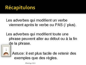 French: Adverbs - PowerPoint