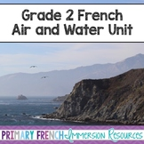 French - Air and Water Unit - L'air et L'eau