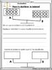 French Algebra Assessment Bundle- L'algebre