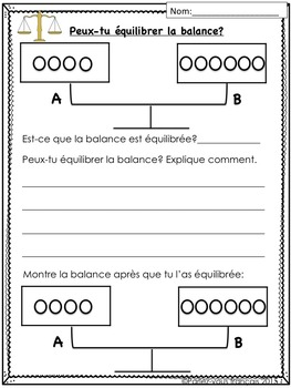 French Algebra Bundle- L'algebre