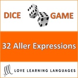 French Aller Expressions Dice Game - Jeu de Dés