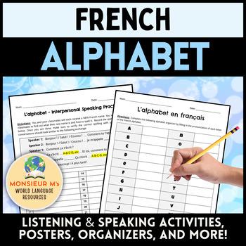 French Alphabet (Activities, Printables, Posters!) [L'alphabet français]