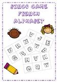 French Alphabet Bingo Game