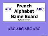 French Alphabet Board Game 2 Designs