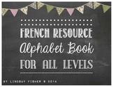 French Alphabet Book