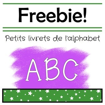 French Alphabet Booklets Freebie