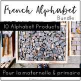 French Alphabet Bundle (with BILINGUAL PICTURES)