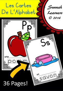 French Alphabet Cards