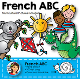 French Alphabet Clip Art