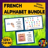 French Alphabet Boom Cards, French Digital Flashcards, Tas