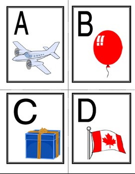 French Alphabet Flashcards and Pair Cards