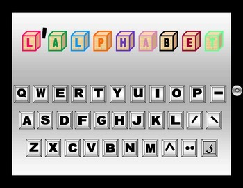 French Alphabet Group Game