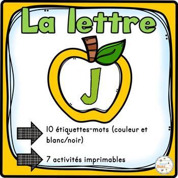 """French Alphabet - L'alphabet - La lettre """"J"""""""