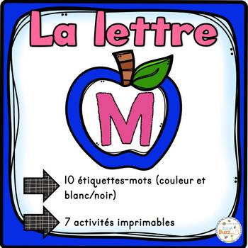 """French Alphabet - L'alphabet - La lettre """"M"""""""