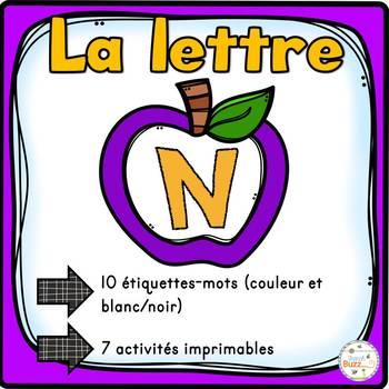 """French Alphabet - L'alphabet - La lettre """"N"""""""