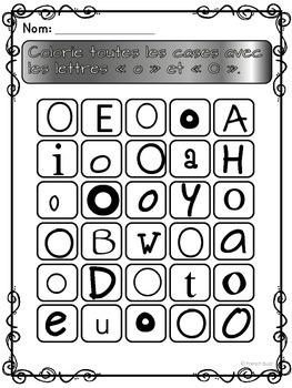 "French Alphabet - L'alphabet - La lettre ""O"""
