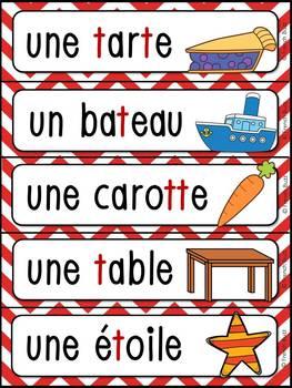 """French Alphabet - L'alphabet - La lettre """"T"""""""
