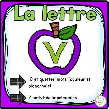 """French Alphabet - L'alphabet - La lettre """"V"""""""