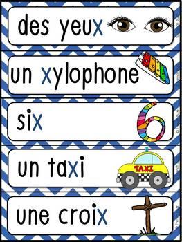 """French Alphabet - L'alphabet - La lettre """"X"""""""