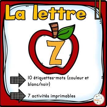 """French Alphabet - L'alphabet - La lettre """"Z"""""""