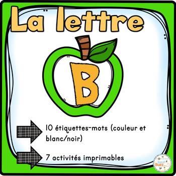 """French Alphabet - L'alphabet - La lettre """"B"""""""