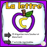 """French Alphabet - L'alphabet - La lettre """"C"""""""