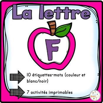 """French Alphabet - L'alphabet - La lettre """"F"""""""