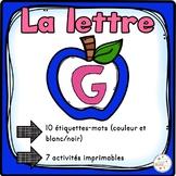 """French Alphabet - L'alphabet - La lettre """"G"""""""