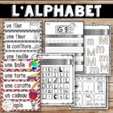 French Alphabet - Les lettres de l'alphabet - Ensemble complet - Bundle