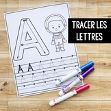 French Alphabet Letter Tracing Sheets