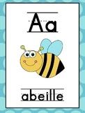 French Alphabet Posters/Affiches de l'alphabet