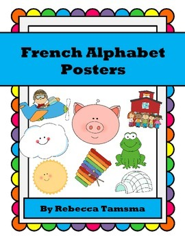 French Alphabet Posters