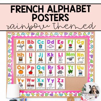 French Alphabet Posters / Affiches de l'alphabet