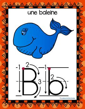 French Alphabet Posters / Affiches de l'alphabet (Arrows)