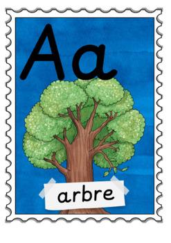 French Alphabet Posters - Les affiches d'alphabet