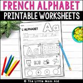 French Alphabet Practice | L'Alphabet Français : Feuilles