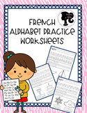 French Alphabet Printing Practice Sheets