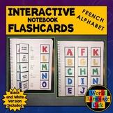 French Alphabet Flashcards, Punctuation, Interactive Noteb