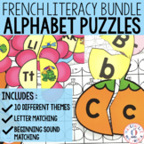 French Alphabet Puzzles - the BUNDLE