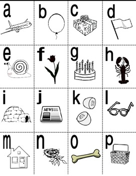 French Alphabet Teaching Posters and Mini Student Cards