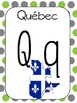 French Alphabet Wall Cards