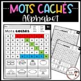 French Alphabet Word Search / Mots cachés de l'alphabet