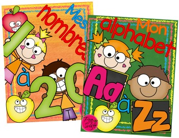 French Alphabet and Numbers Bundle