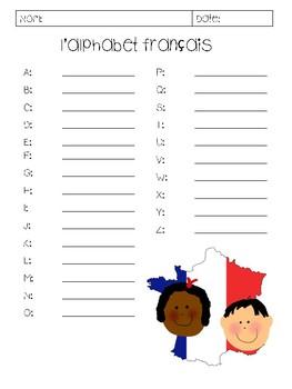 French Alphabet and Phonics