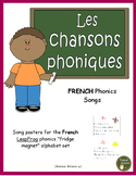 French Alphabet and Phonics Songs (posters for LeapFrog magnetic alphabet set)