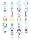 French Alphabet printable
