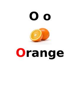 French Alphabets vocab