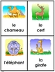French Animal Friends cards