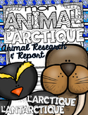 French Animal Research & Report L'ARCTIQUE ❄ L'ANTARCTIQUE