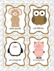 French Animal Word Wall